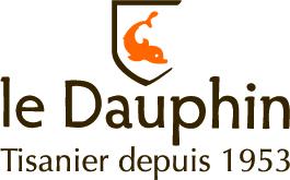 Logo Le dauphin + baseline